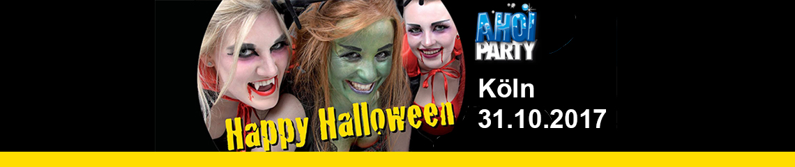 AHOI-Party Happy-Halloween 31.10.2017 Köln