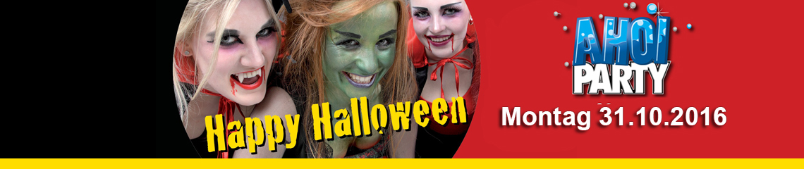 AHOI-Party Happy Halloween 31.10.2016