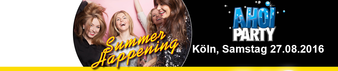 AHOI-Party Summer-Happening 27.08.2016 in K�ln
