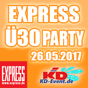 Express-Ü30-Party 26.05.2017 Köln